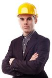 Closeup of confident engineer Stock Photo