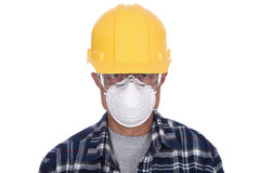 Closeup Construction Worker Stock Photography