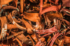 Closeup of copper wire, concept of industry development and market of raw materials.  Royalty Free Stock Photo