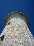 Closeup of Coral Lighthouse Royalty Free Stock Images
