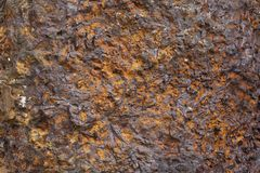 Closeup of corroded metal Royalty Free Stock Images