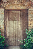 Closeup of a Cottage door Royalty Free Stock Photography