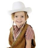 Closeup Cowgirl Stock Image