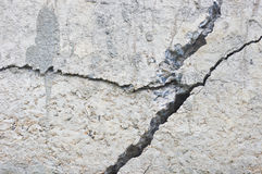 Cracked concrete texture Stock Image