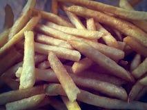Closeup Crispy French Fries Stock Image