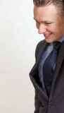 Smiling confident business man Royalty Free Stock Image