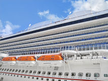 Closeup of  Cruise Ship Stock Image