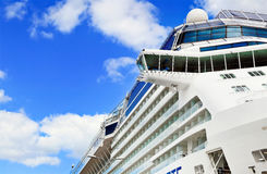 Closeup of  Cruise Ship Royalty Free Stock Images