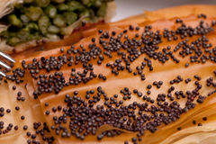 Closeup Of Crust With Poppy Seeds Stock Photography