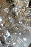 Wine glasses abstract Royalty Free Stock Photo