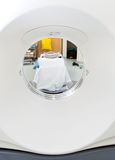 Closeup Of CT Scan Machine. In examination room Royalty Free Stock Images