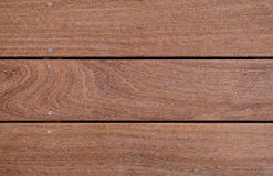 Closeup of cumaru hard wood Royalty Free Stock Photography