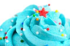 Closeup cupcake Royalty Free Stock Photos