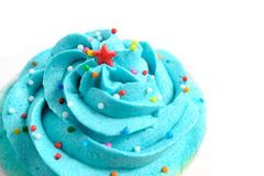 Closeup cupcake Royalty Free Stock Image