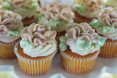 Closeup of Cupcakes Royalty Free Stock Images