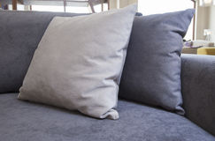 Closeup of cushions on sofa Royalty Free Stock Images