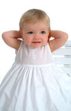 Closeup of Cute Toddler royalty free stock photo