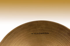 Closeup Cymbal Royalty Free Stock Images