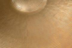 Closeup of cymbal Royalty Free Stock Photos