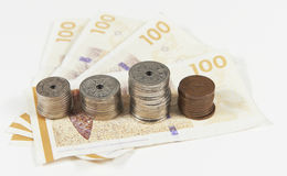 Danish currency Royalty Free Stock Images