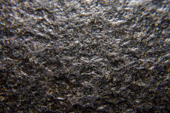 Closeup dark granite Stock Image