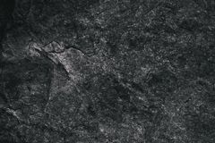 Closeup of dark textured background. Gray rough texture and background for design. Black abstract background made with stone. Old grunge background Stock Images