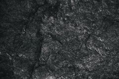 Closeup of dark textured background. Gray rough texture and background for design. Black abstract background made with stone. Old grunge background Stock Photography