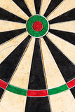 Closeup of an dartboard Royalty Free Stock Image