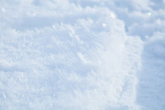 Icy snow background Royalty Free Stock Photos