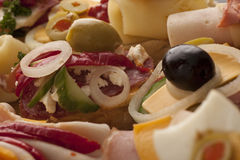 Closeup of delicious appetizers Stock Image