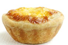 Closeup of Delicious chicken tarts Royalty Free Stock Images