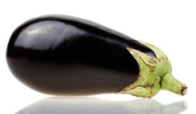 Closeup of delicious purple aubergine Royalty Free Stock Photography