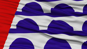 Closeup Des Moines Flag Stock Photo