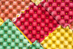 Closeup detail of multi color Royalty Free Stock Image