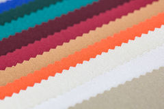 Closeup detail of multi color fabric texture Royalty Free Stock Photo
