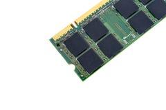 Closeup details of computer memory (RAM) Stock Images