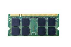 Closeup details of computer memory (RAM) Royalty Free Stock Photos