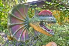 Dilophosaurus royalty free stock image