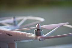 Closeup of DJI Phantom drone Royalty Free Stock Photography