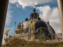 Closeup: Dome of the Petit Palais, Paris Royalty Free Stock Photos