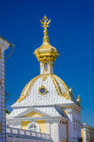 Closeup of dome with Russian Eagle Royalty Free Stock Photography