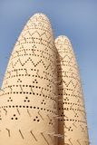 Closeup of Dovecotes at Katara village, Qatar Stock Image