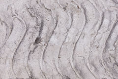 Background: Concrete with Wave Pattern Royalty Free Stock Photos