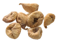 Closeup of a dried figs Stock Images