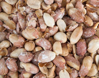 Closeup dried and roasted pistachio nuts Stock Photography