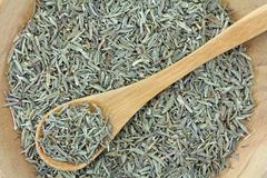 Closeup of dried Thyme Royalty Free Stock Photo
