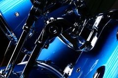 Closeup drums royalty free stock image