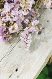 Closeup of dry flowers composition Stock Photography