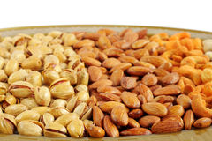 Closeup of dry fruits Stock Image