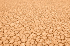 Closeup of dry soil Royalty Free Stock Photo